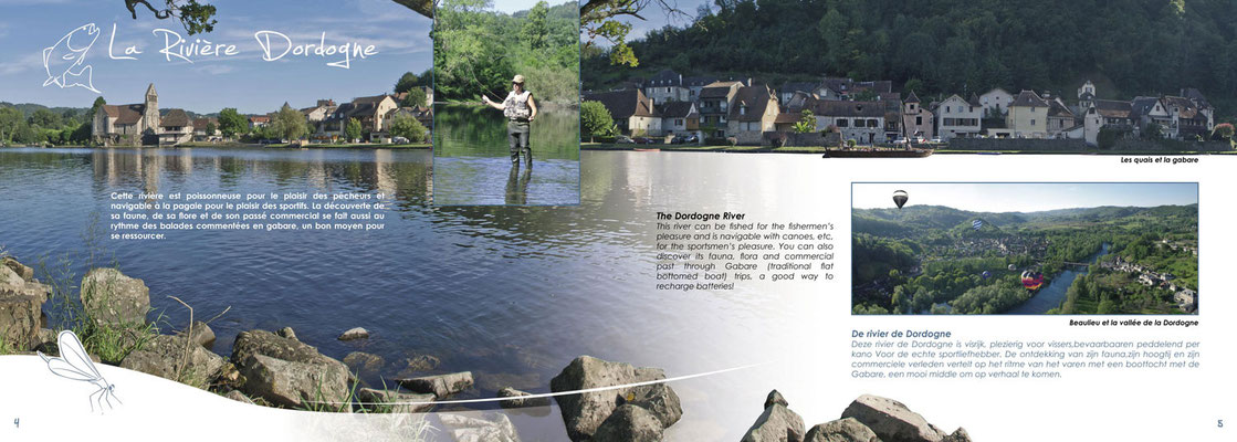 Brochures ludovic p tiniot studio de cr ation - Office de tourisme beaulieu sur dordogne ...