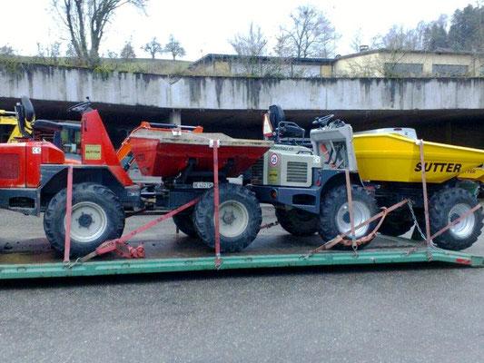 Muldenservice - Reusser Transporte AG Biberist