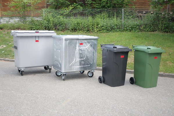 Abfallcontainer - Reusserr Transporte AG Biberist