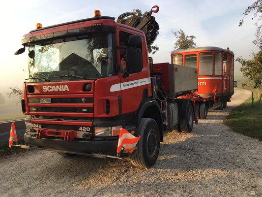 Spezialtransporte - Reusser Transporte AG Biberist