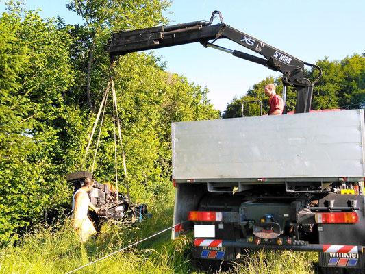Böschungsmäher - Reusser Transporte AG Biberist