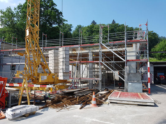 Abriss und Neubau - Reusser Transporte AG Biberist