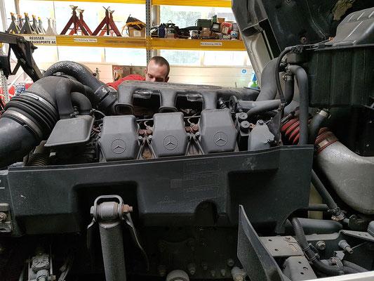 Reparatur und Wartung - Reusser Transporte AG Zuchwil