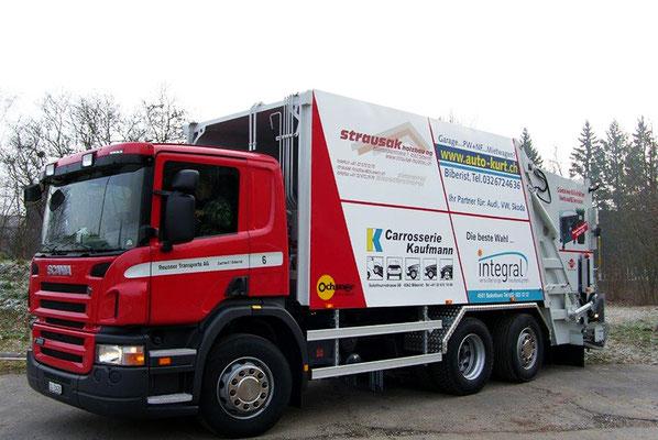 Kehrichtabfuhr - Reusser Transporte AG Biberist