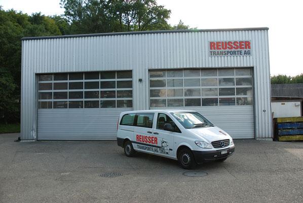 Unser Kleintransporter - Reusser Transporte AG Zuchwil