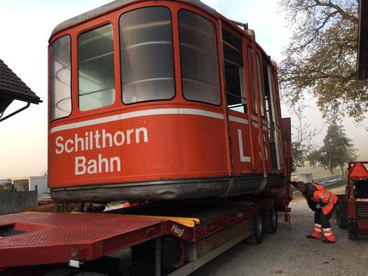 Spezialtransport Schilthorn Bahn - Reusser Transporte AG Biberist