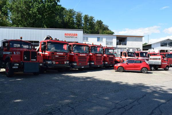 Fahrzeugflotte Fahrzeugflotte - Reusser Transporte AG Biberist