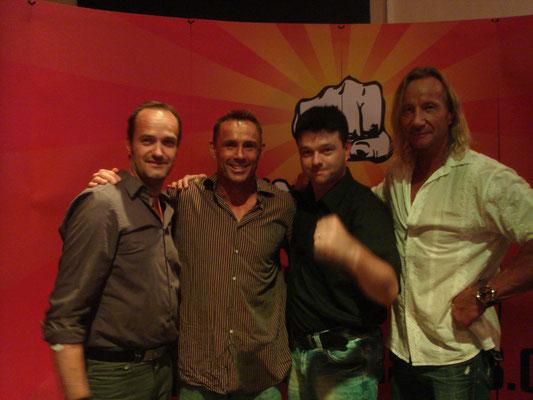 Albert Greber, Olivier Gruner, Me, Matthias Hues