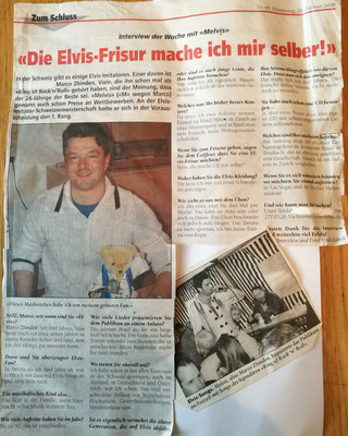Melvis Interview in der Noz