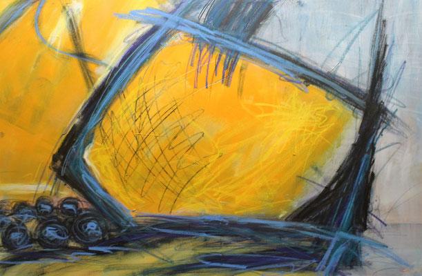 Ohne Titel Acryl auf Leinwand 70x100 cm Preis auf Anfrage