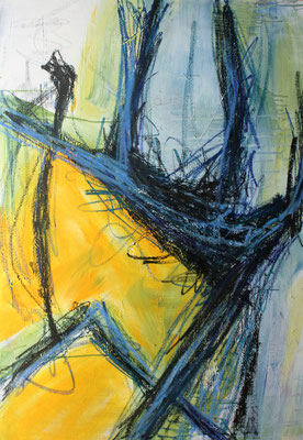 Ohne Titel Acryl auf Leinwand 100x70 cm Preis auf Anfrage
