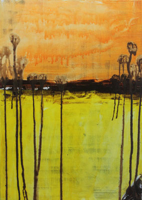 Ohne Titel Acryl auf Leinwand 70x50 cm Preis auf Anfrage