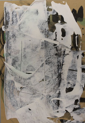 ohne Titel - Acryl auf Papier A4 Preis auf Anfrage
