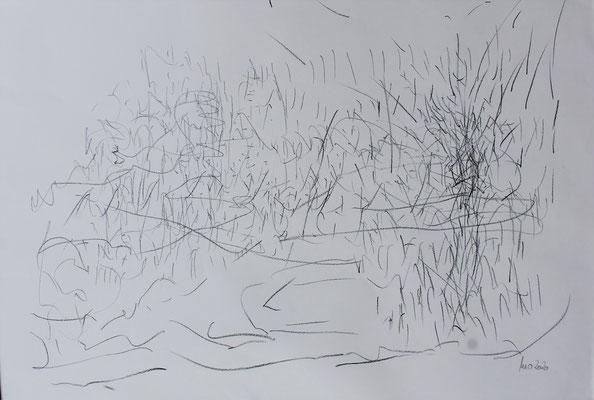Metamorphosis 4- Acryl Mischtechnik auf Papier 70x100 cm Preis auf Anfrage
