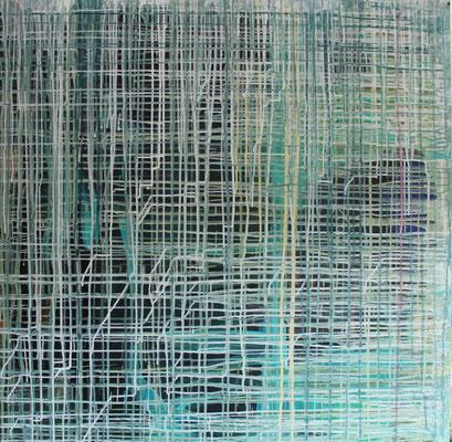Ohne Titel Acryl auf Leinwand 100x100 cm Preis auf Anfrage