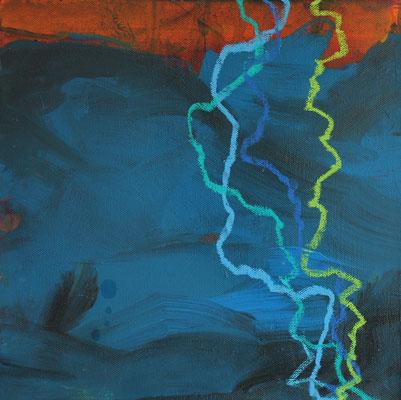 Ohne Titel Acryl auf Leinwand 30x30 cm Preis auf Anfrage