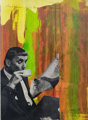 Serie Europäische Vermächtnisse - Collage auf Papier - A4 Preis auf Anfrage