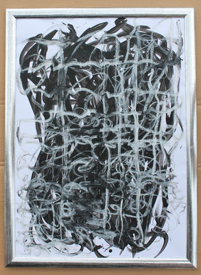 Metamorphosis C- Acryl Mischtechnik auf Papier 70x50 cm Preis auf Anfrage