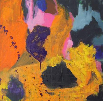 Ohne Titel Acryl auf Leinwand 60x60 cm Preis auf Anfrage