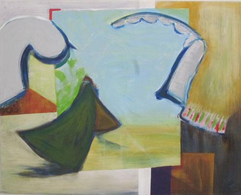 Ohne Titel Acryl auf Leinwand 80x100 cm Preis auf Anfrage