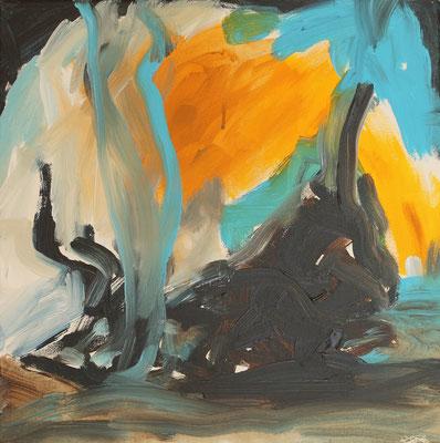 Ohne Titel Acryl auf Leinwand 40x40 cm Preis auf Anfrage