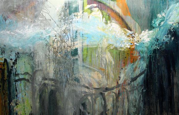 Ohne Titel Acryl auf Leinwand 100x160 cm Preis auf Anfrage