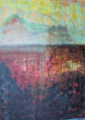 Ohne Titel Acryl auf Leinwand 14x100 cm Preis auf Anfrage