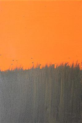 Ohne Titel Acryl auf Leinwand 30x20 cm Preis auf Anfrage