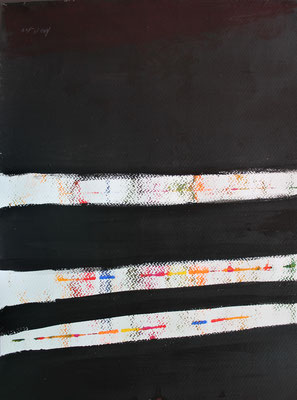 ohne Titel - Acryl auf Papier 30x40 cm Preis auf Anfrage