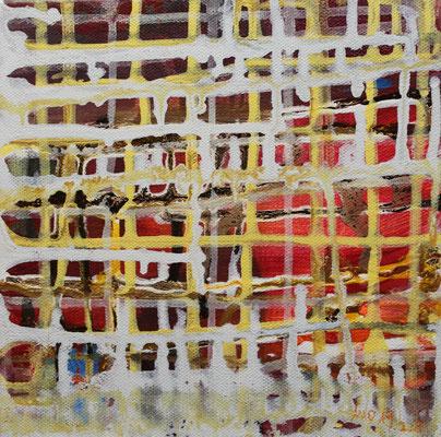Ohne Titel Acryl auf Leinwand 20x20 cm Preis auf Anfrage
