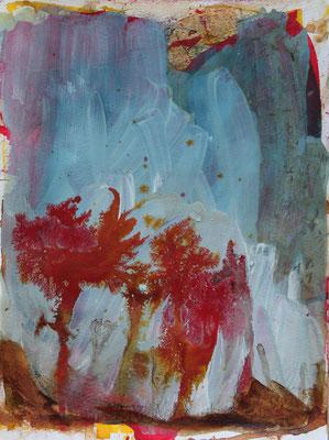 ohne Titel - Acryl auf Papier 40x30cm Preis auf Anfrage