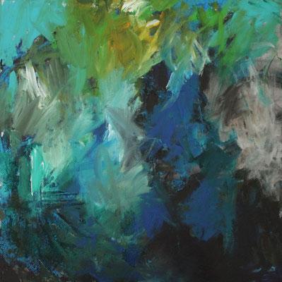 Ohne Titel Acryl auf Leinwand 80x80 cm Preis auf Anfrage