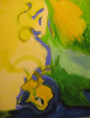 Ohne Titel Acryl auf Leinwand 120x100 cm Preis auf Anfrage