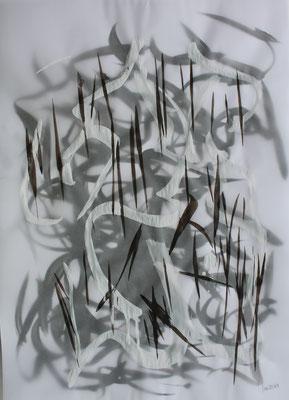 ohne Titel - Acryl auf Papier 40x30 cm 2teilig Preis auf Anfrage