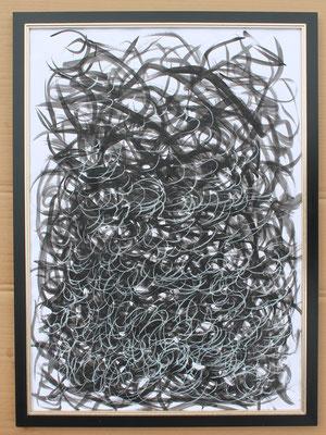 Metamorphosis A- Acryl Mischtechnik auf Papier 70x50 cm Preis auf Anfrage
