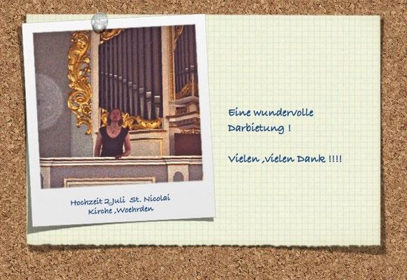 Hochzeit am 02.07.11 in Wöhrden