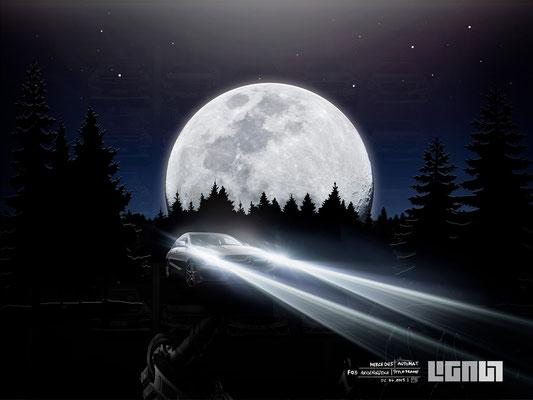 Mercedes Benz Roadshow_Styleframe Alien - Peter Bartels