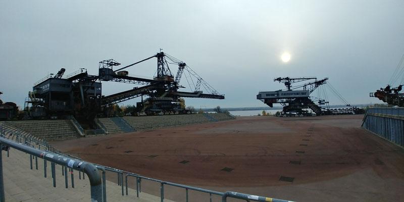 Ferropolis - Nutzung einer Tagebaufolgelandschaft als Industriemuseum und Veranstaltungsort