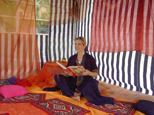 Orientalisches Fest mit Märchenzelt