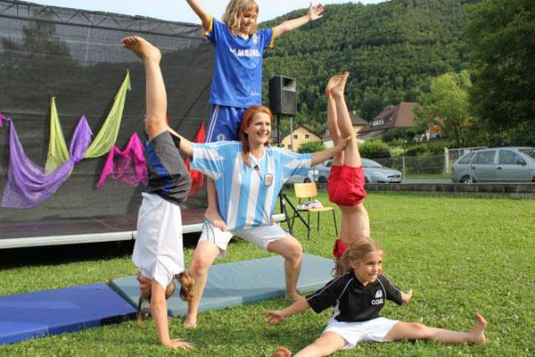 Zirkus mit Kindern