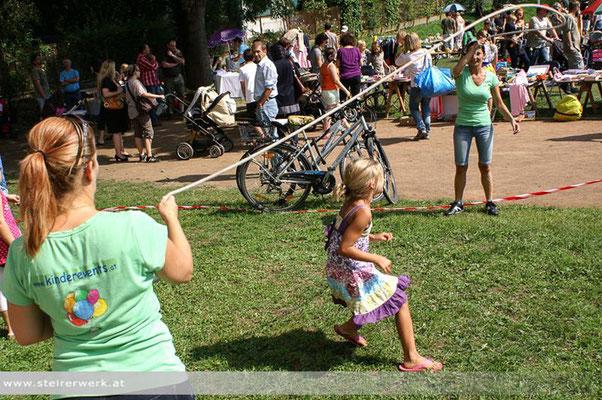 Kinderflohmarkt in Andritz - Foto: Steirerwerk