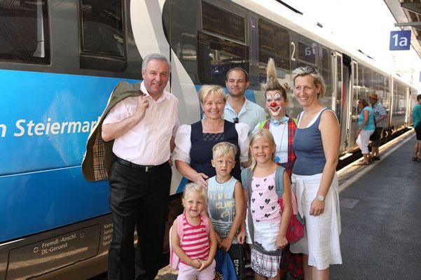 Eröffnung der S-Bahn - mit Hermann Schützenhöfer