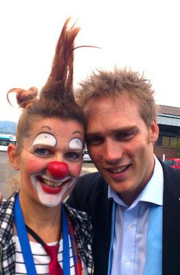 Clownin Popolina mit dem fantastischen Zauberer Paul Sommersguter