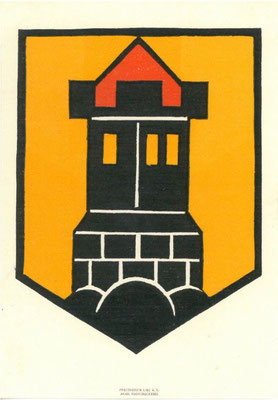 Heraldikkarte aus 1926