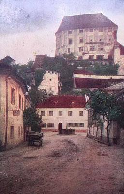 """Postkarte ungelaufen """"Steyregg - Linz und obere Donau"""", Karte 158"""