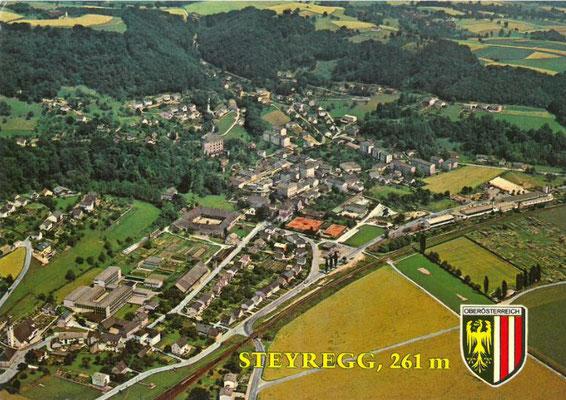 Luftbildaufnahme aus 80er Jahre