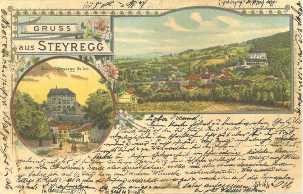 Korrespondenzkarte um 1900