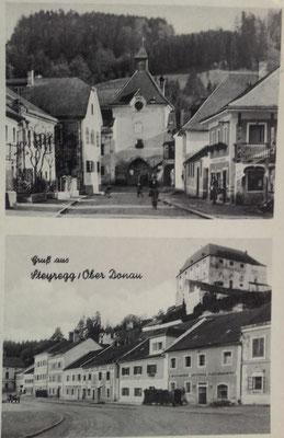 Karte gelaufen 1941