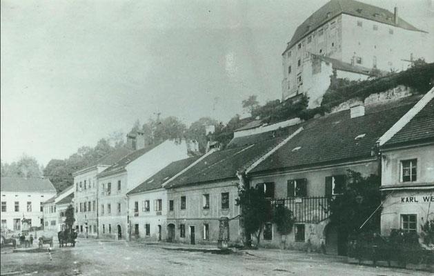 Stadtplatz ca. 1920