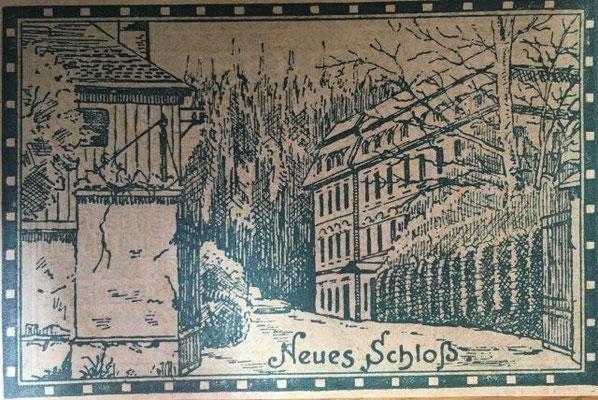 Darstellung auf einem 60 Heller Notgeldschein der Stadtgemeinde Steyregg aus dem Jahr 1920